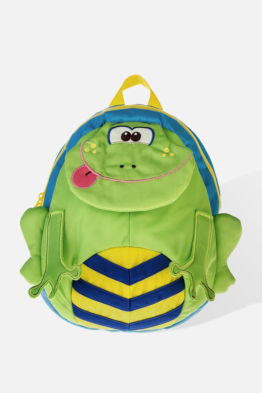 Рюкзак детский ЛягушкаУчеба и работа<br>Материал: текстиль. Размер: 29*26см<br>
