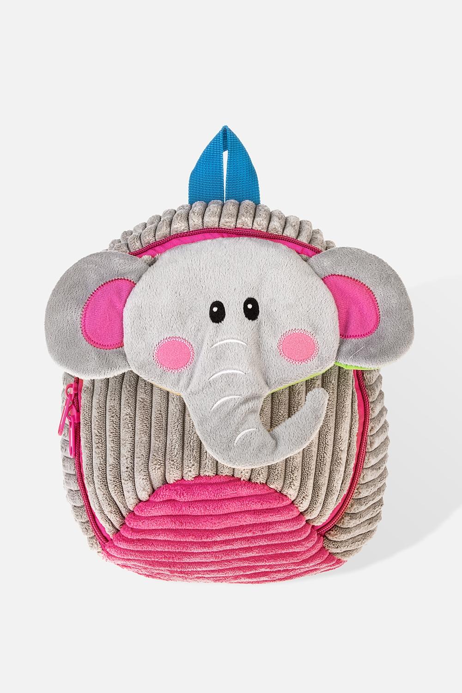 Рюкзак детский СлоникМатериал: текстиль. Размер: 27*22см<br>