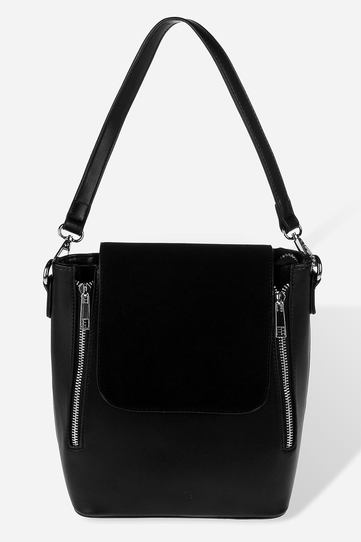 Сумка-рюкзак СьюдПодарки<br>Материал: искусственная кожа. Размер 23*20см.<br>