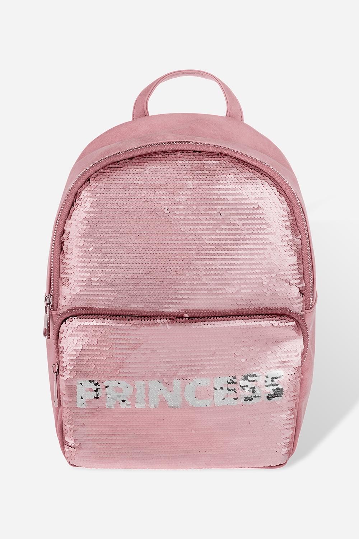 Рюкзак с пайетками ПринцессаПодарки детям<br>Материал: текстиль, пайетки. Размер:  23*32см.<br>