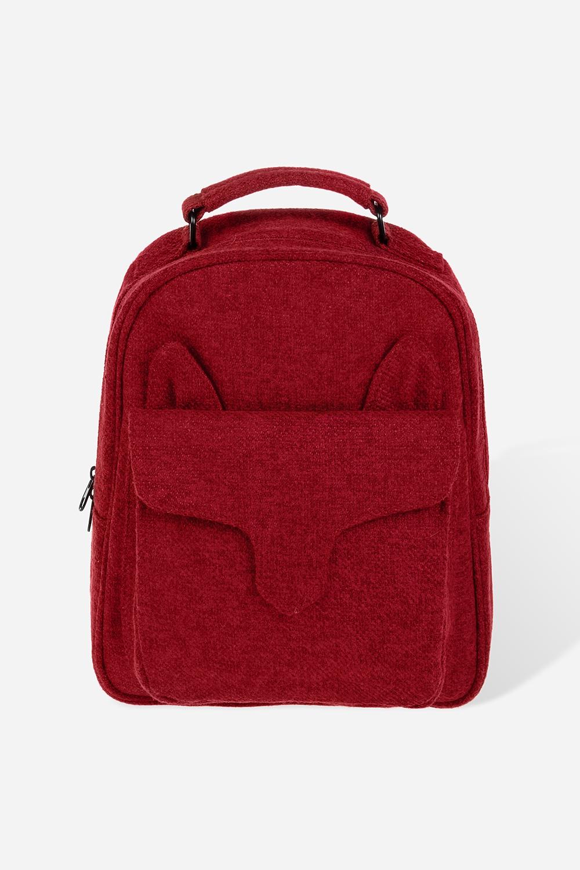 Рюкзак ФоксМатериал: текстиль. Размер: 25*23см.<br>