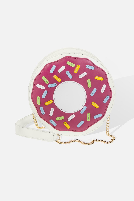 Сумка Розовый пончикПодарки<br>Материал: искусственная кожа. Размер: 20*20см.<br>
