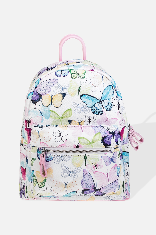 Рюкзак Чудесные бабочкиПодарки<br>Материал: искусственная кожа. Размер: 28*31см.<br>