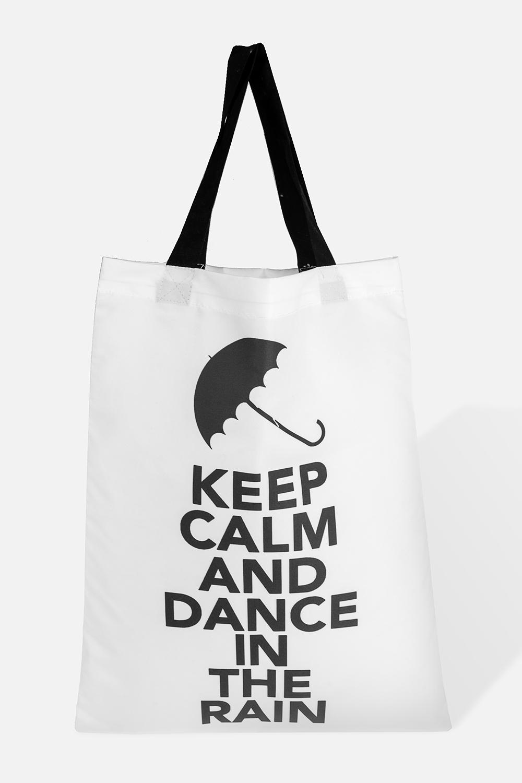 Сумка Танец под дождемРаспродажа Black Friday<br>Материал: текстиль. Размер 35*45см<br>