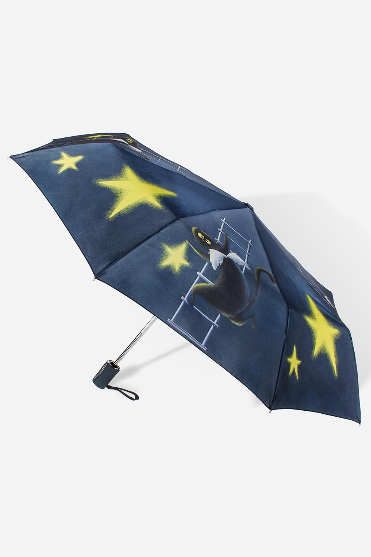 Зонт складной АнгелокотРаспродажа Black Friday<br>Зонт складной полный автомат. Материал: 100% полиэстер. Длина 27см.<br>