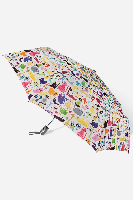 Зонт складной Найди песикаПодарки<br>Зонт складной полный автомат. Материал: 100% полиэстер. Длина 27см.<br>