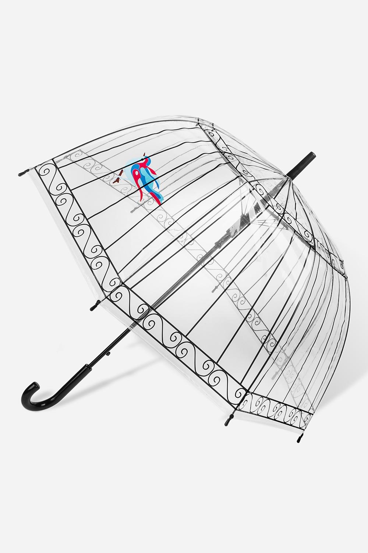 Зонт-трость КлеткаПодарки для женщин<br>Зонт-трость полуавтомат. Материал: ПВХ. Выс=90см.<br>