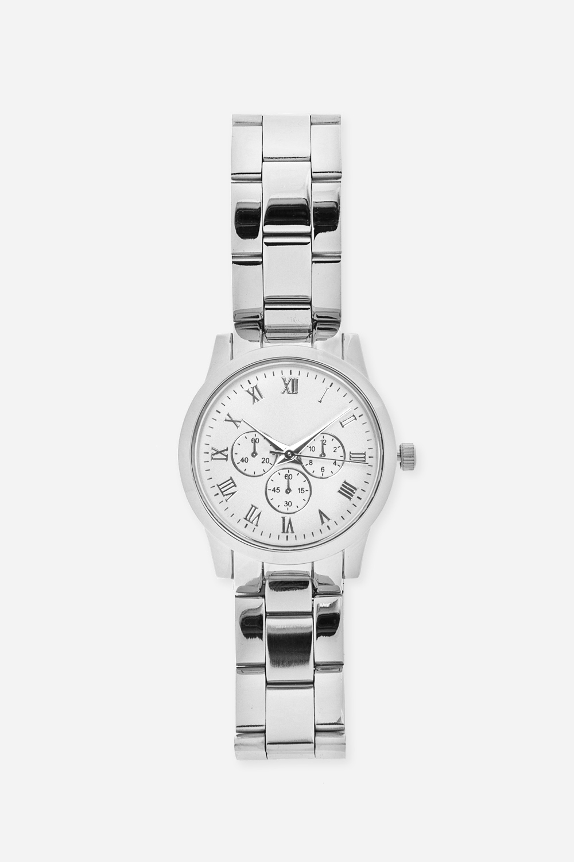 Часы СильверПодарки для женщин<br>Часы наручные, кварцевые, на  металлическом ремешке<br>