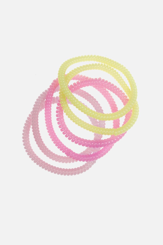 Набор резинок для волос МиллиРаспродажа Black Friday<br>Материал: мягкий пластик<br>