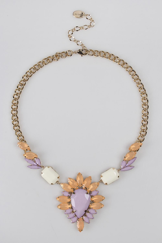 Ожерелье ТендлиаМетал: гиппоаллергенный бижутерный сплав металлов, не содержащий никеля.<br>