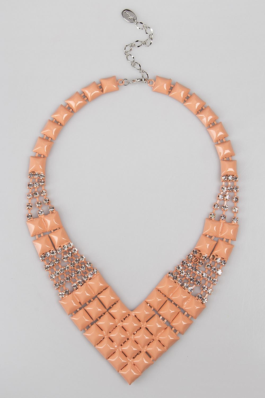 Ожерелье МонаМетал: гиппоаллергенный бижутерный сплав металлов, не содержащий никеля.<br>