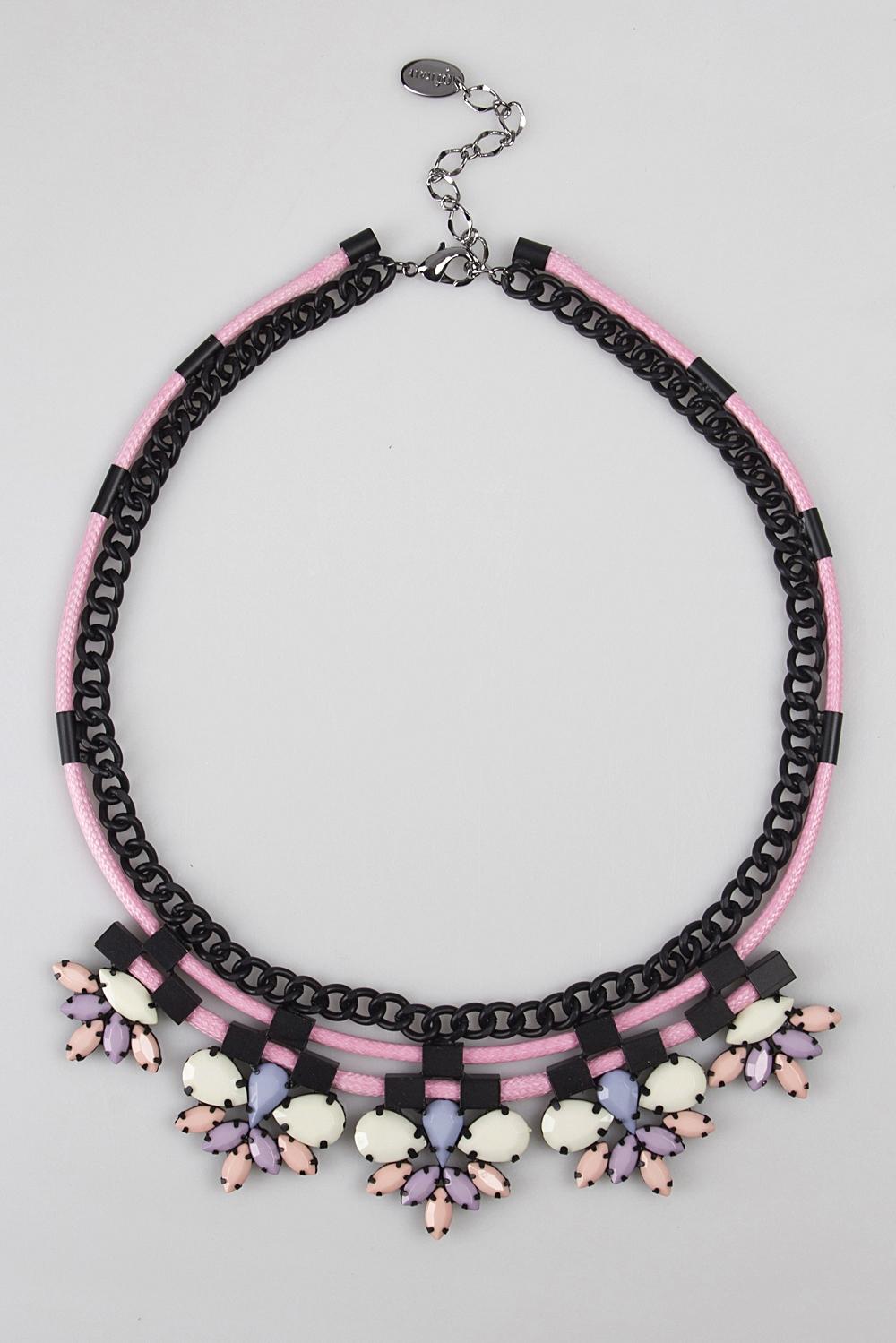 Ожерелье КориосМетал: гиппоаллергенный бижутерный сплав металлов, не содержащий никеля.<br>