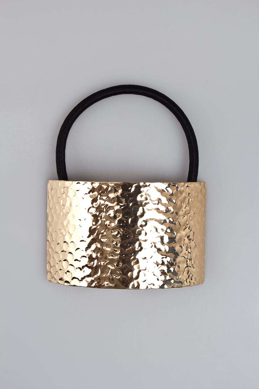 Резинка для волос ПлатоМатериал: металл, текстиль<br>