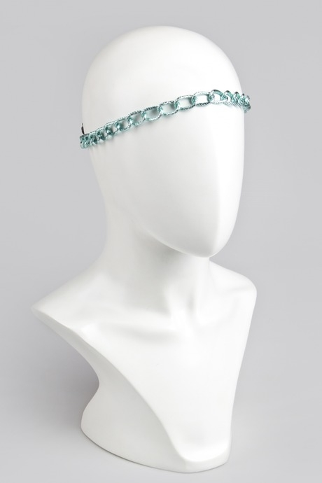 Повязка для волос ЧейнсПодарки на 8 марта<br>Материал: пластик, текстиль<br>