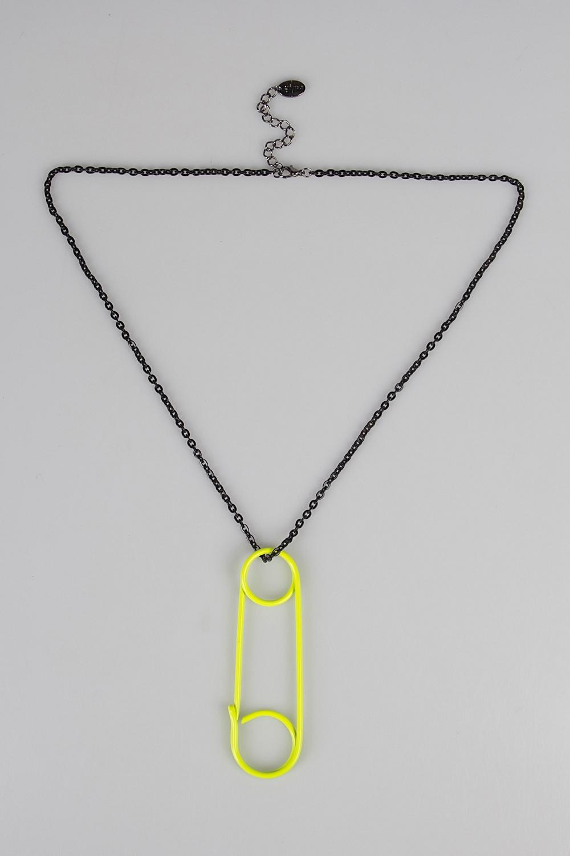 Ожерелье БулавкаРаспродажа Black Friday<br>Метал: гиппоаллергенный бижутерный сплав металлов, не содержащий никеля.<br>