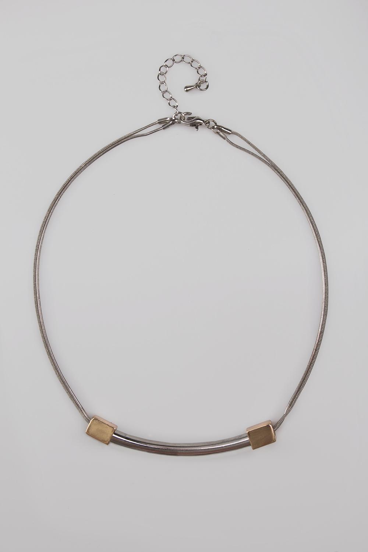 Ожерелье ПланкасМетал: гиппоаллергенный бижутерный сплав<br>