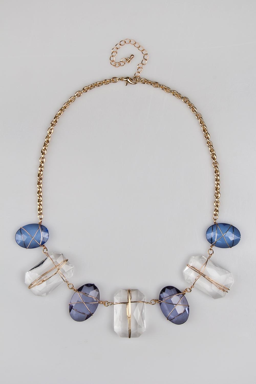Ожерелье КристаллРаспродажа Black Friday<br>Метал: гиппоаллергенный бижутерный сплав<br>