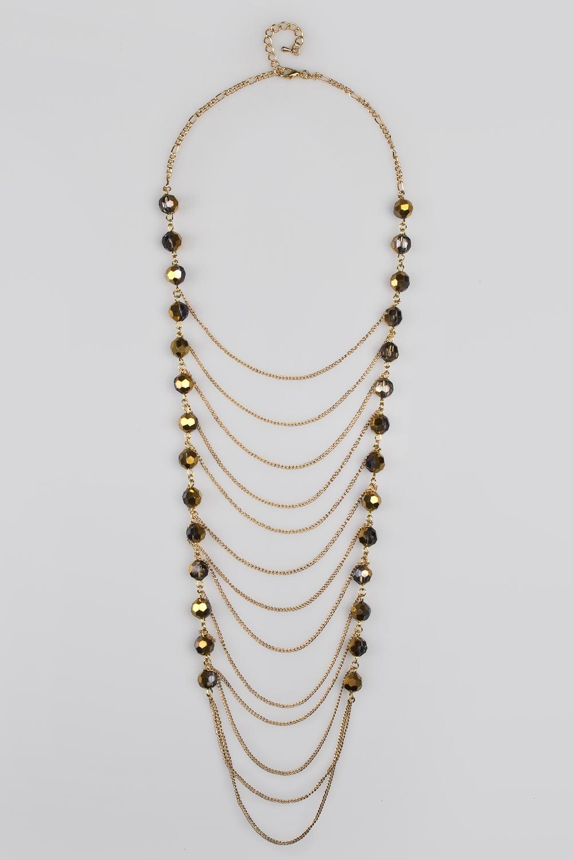 Ожерелье ЛианикаМетал: гиппоаллергенный бижутерный сплав<br>
