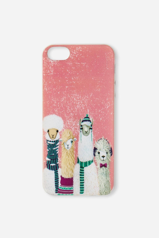 Чехол для айфона 5/5S Ламы на стиле купить чехол для айфона 4 с камнями
