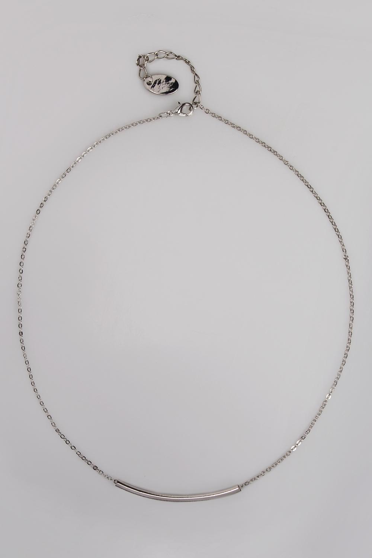 Ожерелье ПланкаМетал: гиппоаллергенный бижутерный сплав<br>