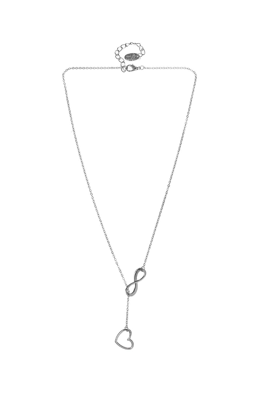 Ожерелье ИнфиМетал: гиппоаллергенный бижутерный сплав<br>