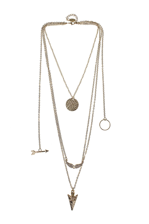 Ожерелье ЭрроуМетал: гиппоаллергенный бижутерный сплав<br>