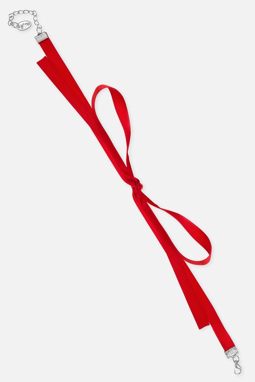 Чокер-бант СимплРаспродажа Black Friday<br>Материал: текстиль<br>