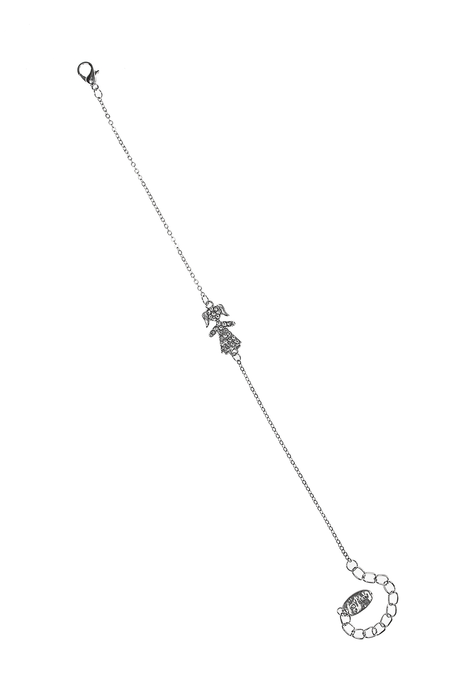 Браслет ДевочкаРаспродажа Black Friday<br>Метал: гиппоаллергенный бижутерный сплав, стекло<br>