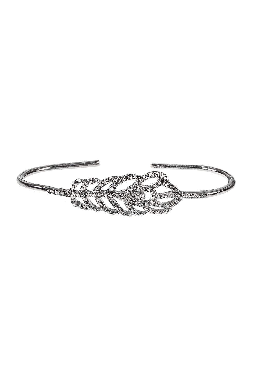 Кольцо-браслет ЛивсиМетал: гиппоаллергенный бижутерный сплав, стекло<br>