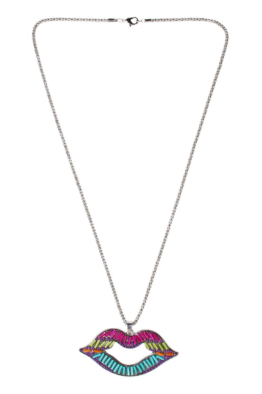Кулон на цепочке Поп-артМетал: гиппоаллергенный бижутерный сплав металлов, не содержащий никеля, пластик.<br>