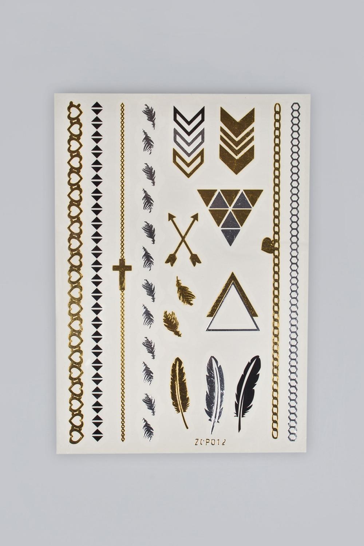 Набор тату-наклеек для тела Татус-13 плоттер для виниловых наклеек