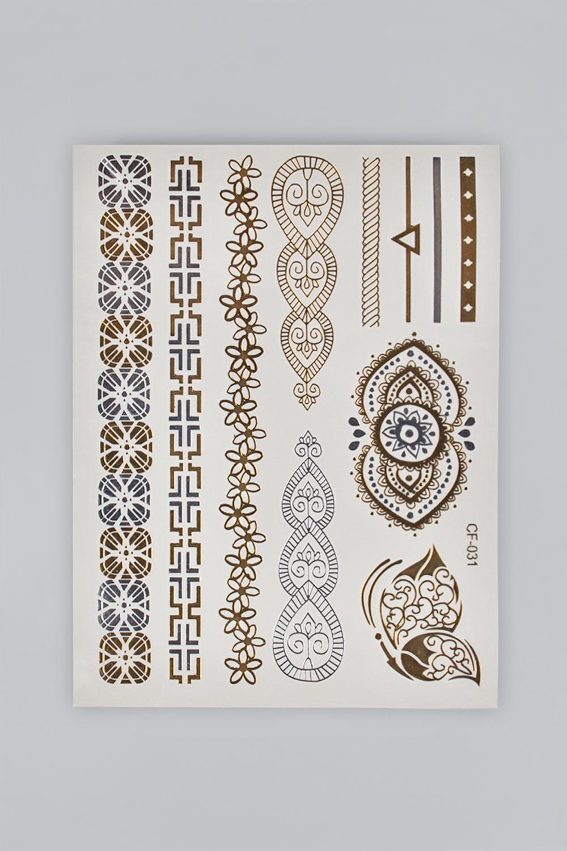 Набор тату-наклеек для тела Татус-14 плоттер для виниловых наклеек