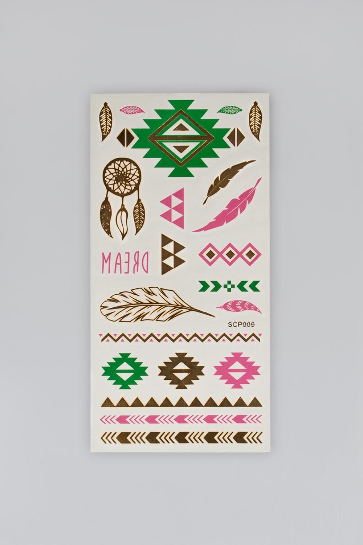 Набор тату-наклеек для тела Татус-19Подарки для женщин<br>Набор тату-наклеек для тела<br>