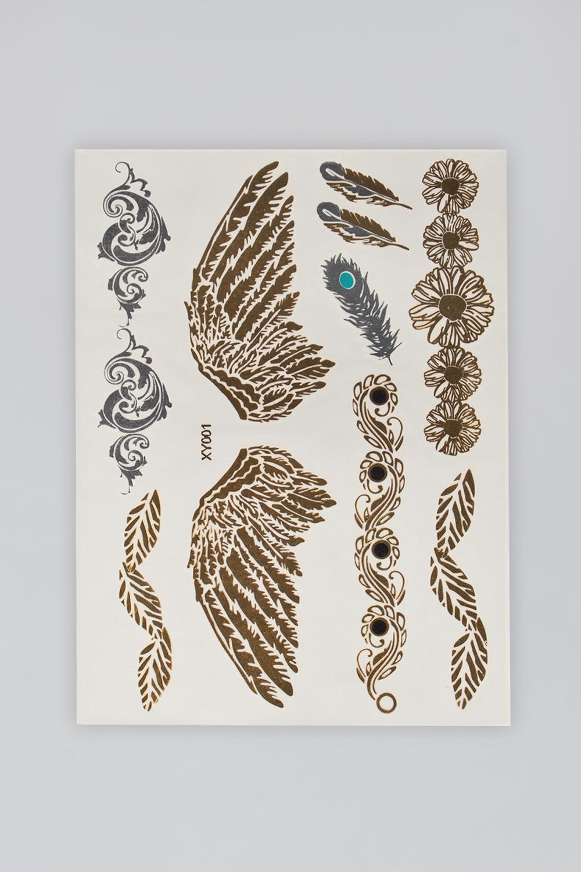Набор тату-наклеек для тела Татус-1 плоттер для виниловых наклеек
