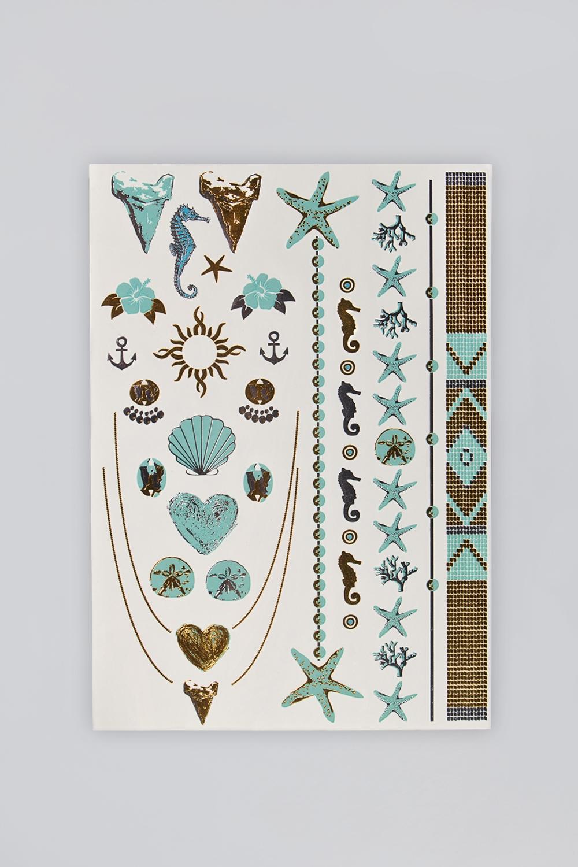 Набор тату-наклеек для тела Татус-4 плоттер для виниловых наклеек