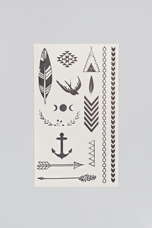 Набор тату-наклеек для тела Татус-5 плоттер для виниловых наклеек