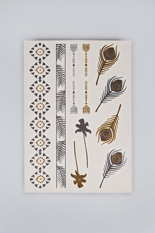 Набор тату-наклеек для тела Татус-7 плоттер для виниловых наклеек