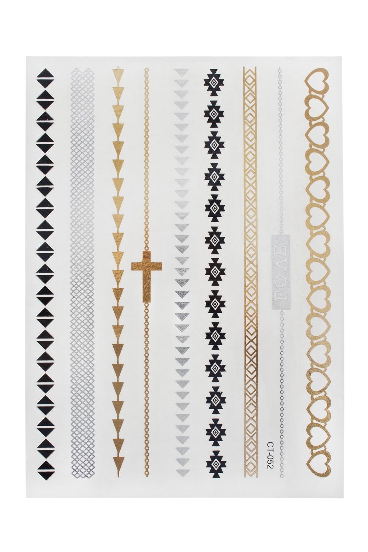 Набор тату-наклеек для тела ВераПодарки для женщин<br>Набор тату-наклеек для тела<br>