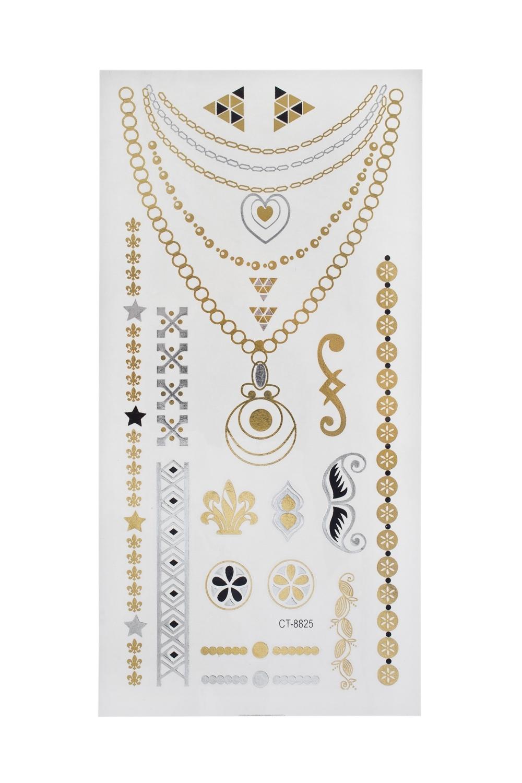 Набор тату-наклеек для тела Знаки плоттер для виниловых наклеек