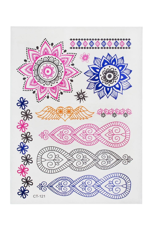 Набор тату-наклеек для тела Знаки судьбыПодарки на день рождения<br>Набор тату-наклеек для тела<br>