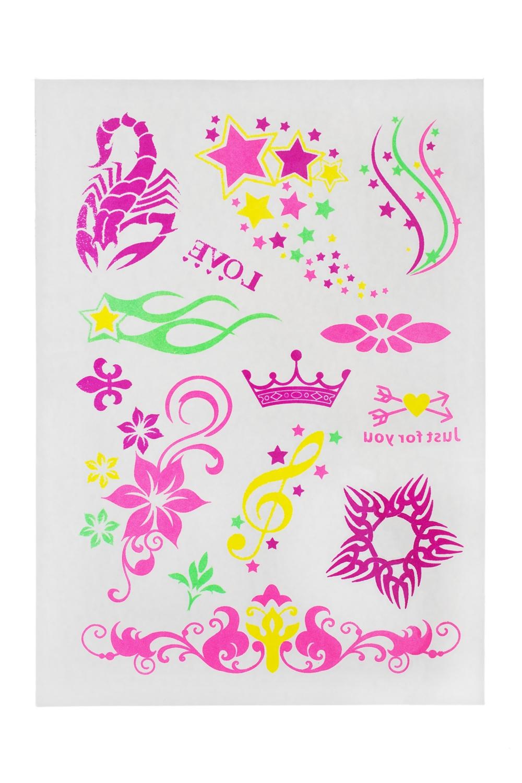 Набор тату-наклеек для тела Для принцессПодарки на день рождения<br>Набор тату-наклеек для тела<br>