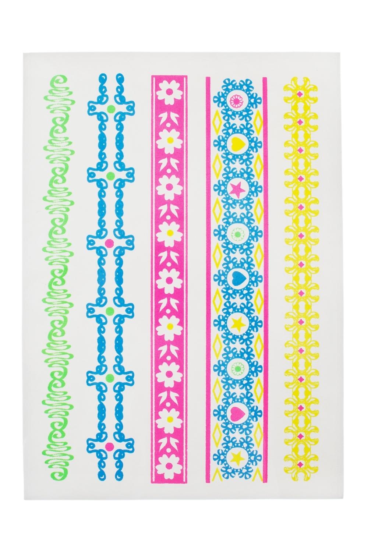 Набор тату-наклеек для тела Браслетики плоттер для виниловых наклеек