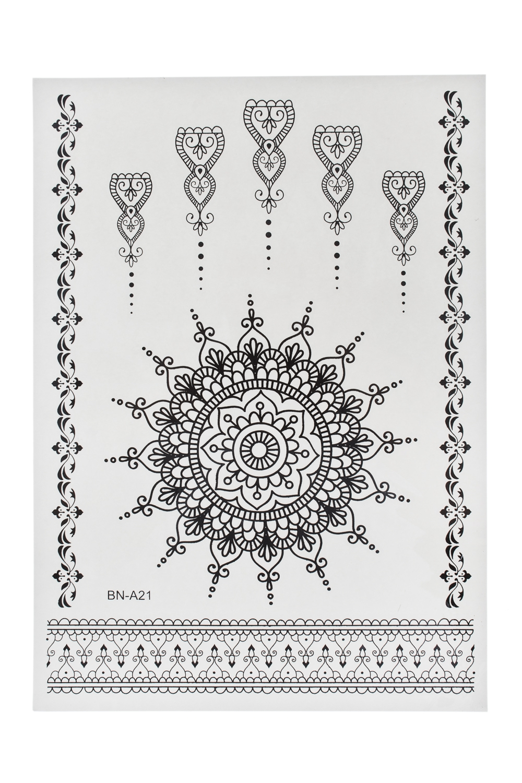 Набор тату-наклеек для тела Нори плоттер для виниловых наклеек