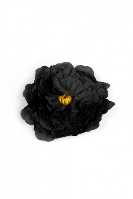 Брошь Цветок страстиПодарки на Хэллоуин<br>Брошь-заколка для волос. Материал: текстиль<br>