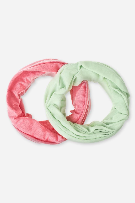 Набор повязок на голову БэйсикРаспродажа Black Friday<br>Набор многофункциональных повязок на голову, которые можно использовать как бандану, резинку для волос, шарф и т.д.  В наборе 2 шт. Состав - 100% полиэстер. Размер 24*49см<br>