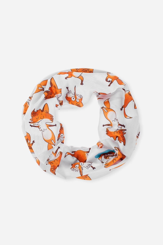Повязка на голову Йога-лисыОдежда, обувь, аксессуары<br>Многофункциональная повязка на голову, которую можно использовать как бандану, резинку для волос, шарф и т.д.  Состав - 100% полиэстер. Размер: 24*49см<br>