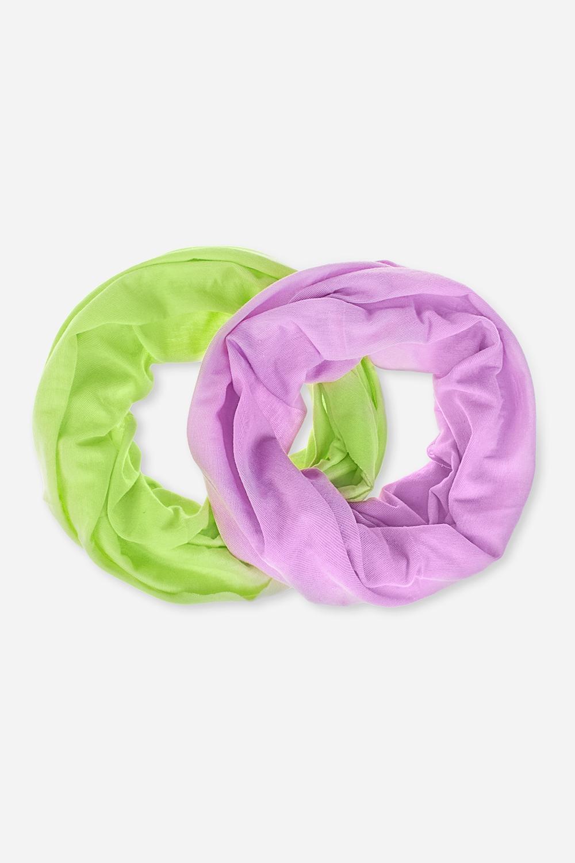 Повязка на голову БэйсикОдежда, обувь, аксессуары<br>Набор многофункциональных повязок на голову, которые можно использовать как бадану, резинку для волос, шарф и т.д.  В наборе 2 шт. Состав - 100% полиэстер. Размер 24*49см<br>