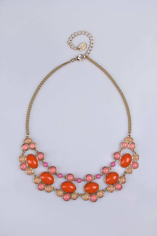 Ожерелье Саммер таймМетал: гиппоаллергенный бижутерный сплав металлов, не содержащий никеля.<br>