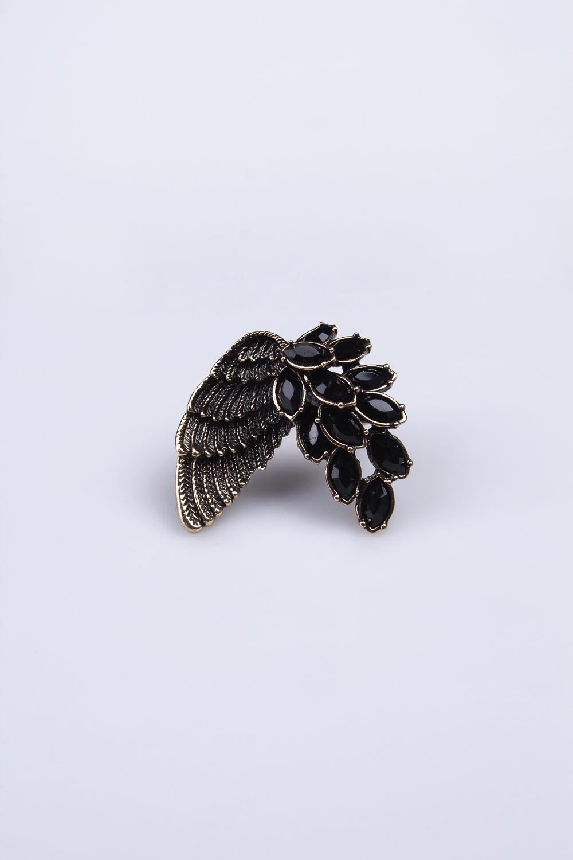 Кольцо Чудо-крыльяМетал: гиппоаллергенный бижутерный сплав металлов, не содержащий никеля.<br>