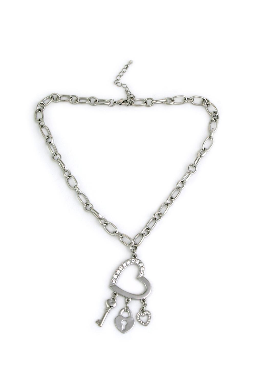 Ожерелье ДрагоценностьРаспродажа Black Friday<br>Металл: гиппоаллергенный бижутерный сплав металлов, не содержащий никеля. Вставки: стекло.<br>